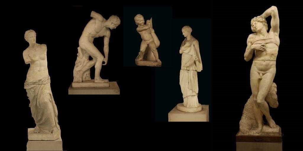 Colección Estatuaria Clásica Siglo XVIII - CULTURA UPV [ Universitat  Politècnica de València ]